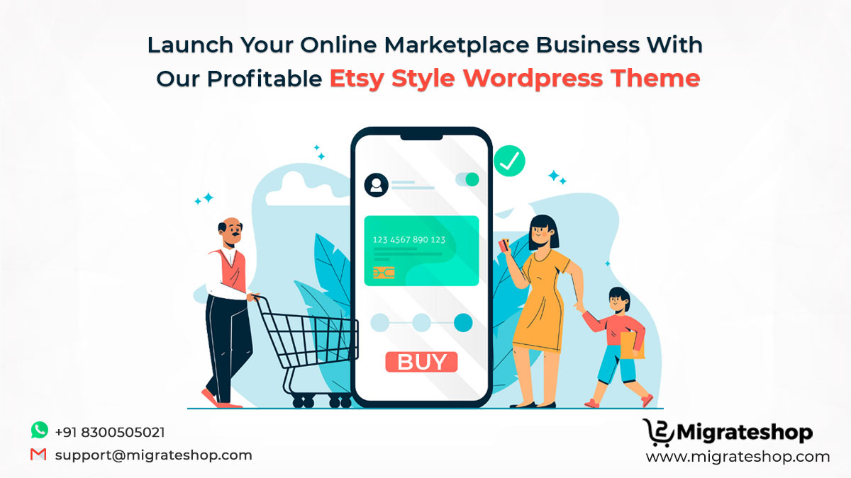 Etsy Style WordPress Theme