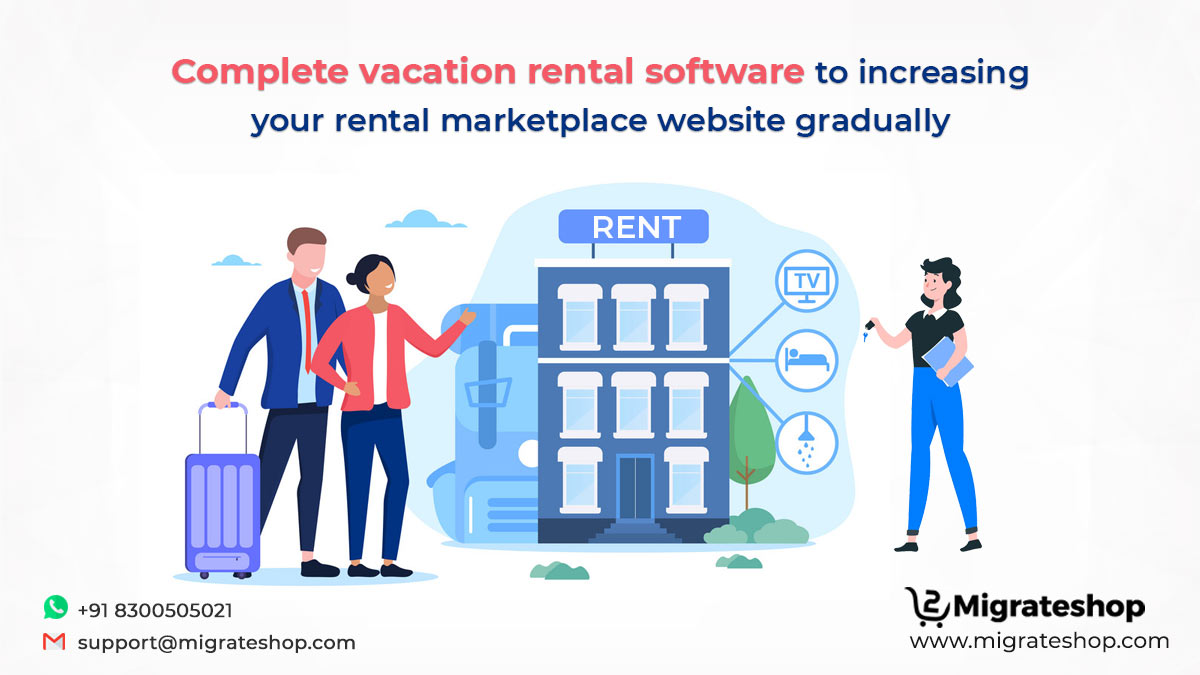 Complete vacation rental software