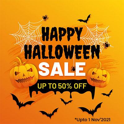 50% Off on Halloween